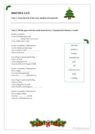 rockin u0027 around the christmas tree christmas activities worksheet
