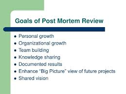 ppt post mortem review process powerpoint presentation id 420871