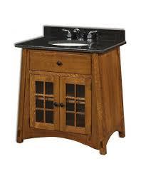 Craftsman Style Bathroom Amish Mission Style Bathroom Vanities
