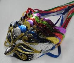 mardi gras factory factory direct sale gold powder painted mask masquerade