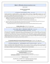 Recruiter Sample Resume Coo Resume Mistakes Operations Executives Should Fix Finance