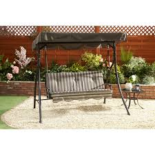 bali three seater garden swing