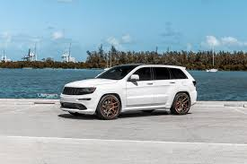 jeep wheels white white jeep srt8 velgen wheels vmb5 satin bronze 22x10 5 all