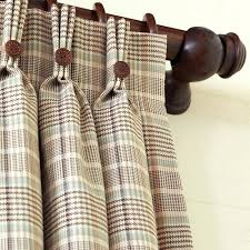 Wool Curtains Wool Plaid Curtains Wool Plaid Ready Made Curtains Mirak Info