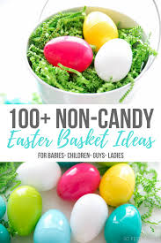 easter baskets for babies 100 non candy easter basket ideas for the whole family so festive