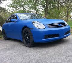 nissan altima coupe plasti dip my dipped flex blue g35 sedan let me know what you think