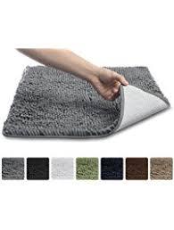 Luxury Microfiber Chenille Bath Rug Shop Amazon Com Bath Rugs
