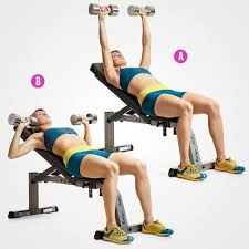 How To Do Dumbbell Bench Press Best 25 Incline Bench Ideas On Pinterest Bench Press Weights
