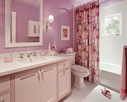 Pink Tile Bathroom Pink Vanity Contemporary Bathroom Colordrunk Design