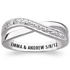 rings engraved images Engraved promise rings wedding promise diamond engagement jpg