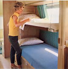 Unlike The Earlier Folddown Permanent Bunk Beds That Replaced The - Suspended bunk beds