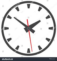 Watch Home Design Shows by Wall Mounted Analog Clock Clock Picture Stock Vector 344912861