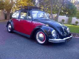 red volkswagen beetle 1972 vw beetle black red classic kombis