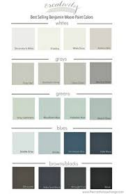 recommended palette of grey benjamin moore paints from interview