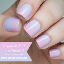 gradient nail art tutorial video and faq the nailasaurus uk