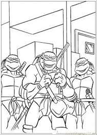 ninja turtles coloring coloring free teenage mutant