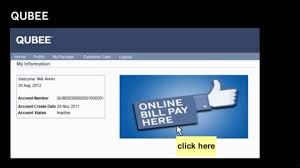 toyota pay my bill qubee online bill payment process youtube