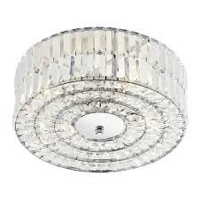 4 Light Semi Flush Ceiling Fixture by Dar Lighting Errol 4 Light Semi Flush Ceiling Light Fitting Type