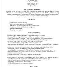 Resume Harvesting Download Farmer Resume Haadyaooverbayresort Com