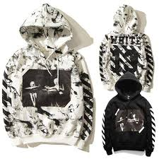 best quality 2015 winter off white 13 jesus skull hoodies men