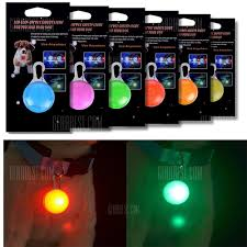 dog collar lights waterproof kwb dog cat pet collar light 6pcs waterproof led dog collar safety