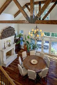 Chandeliers For Dining Room Traditional Round Farmhouse Table Ideas Dining Room Traditional With