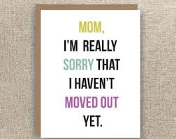 mom card funny mother u0027s day card funny mom birthday