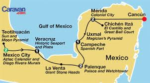aztec map of mexico mexico tours mayan ruins colonial cities