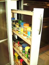 Kitchen Pull Out Cabinets Kitchen Pull Out Spice Racks For Cabinets Pull Out Spice Rack