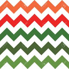 Green White And Yellow Flag Red Green And White Zigzag Seamless Pattern Contrast Geometric