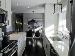 Large Galley Kitchen Original Nathalie Tremblay Galley Kitchen Rend Hgtvcom Surripui Net