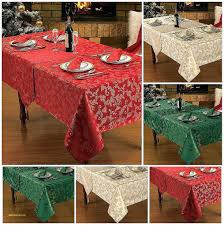 christmas table linens sale christmas table linens holiday tablecloths on sale target