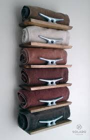 bathroom towel racks ideas 20 really inspiring diy towel storage ideas for every small
