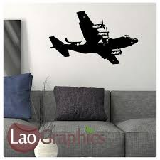Aviation Home Decor Aeroplane Aviation U0026 Flight Wall Stickers Home Decor Army Art