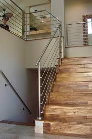 modern stair railing staircase modern with metal railing dark floor