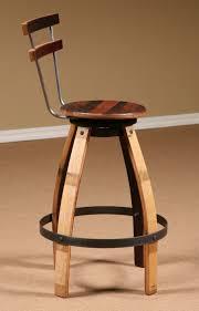 Wine Barrel Bar Table Wine Barrel Stave Furniture Wine Barrel Swivel Stool Stave Stool