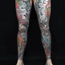 30 leg designs for masculine ink ideas