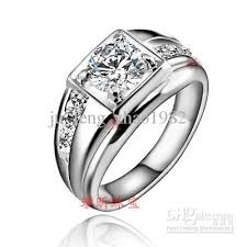 Mens White Gold Wedding Rings by Best 2012 Fashion Wedding Rings 18k White Gold Men U0027s Ring Swiss