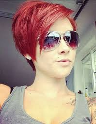 funky short pixie haircut with long bangs ideas 45 fashion best