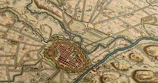 Itsly Map Map Of Turin Italy U2013 By Nicolaes Visscher 1706 Cobblestone