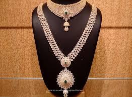 gold bridal sets gold cz bridal jewellery set gold bridal jewellery bridal