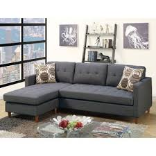 L Leather Sofa L Shaped Sectional Sofas You Ll Wayfair