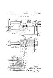 patent us1734080 grinding wheel slide and adjusting mechanism