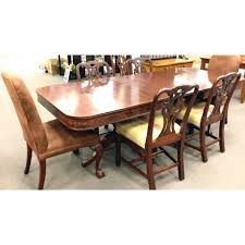 WilliamsKimp Furniture Co Mahogany W D  H Dining - Mahogany kitchen table