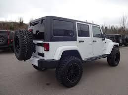 white jeep rubicon custom white jeep wrangler unlimited sahara collierville jeep