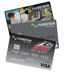 debit card for visa debit atm card nusenda credit union