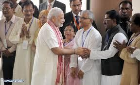 hindu l modi meets with of hindu community in bangladesh xinhua