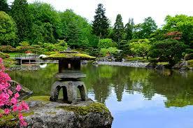 Botanical Gardens Seattle Japanese Garden In The Uw Botanic Gardens At Washington Park
