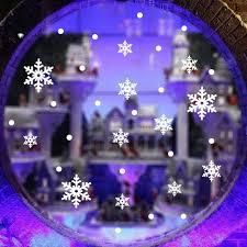 aliexpress com buy 1pc christmas snowflake decals paris city