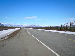 Alaska Road Map by Driving Highlights Anchorage To Fairbanks